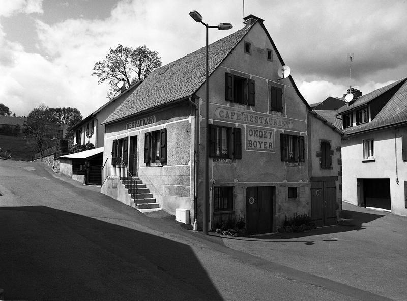 maison, café-restaurant Ondet-Boyer