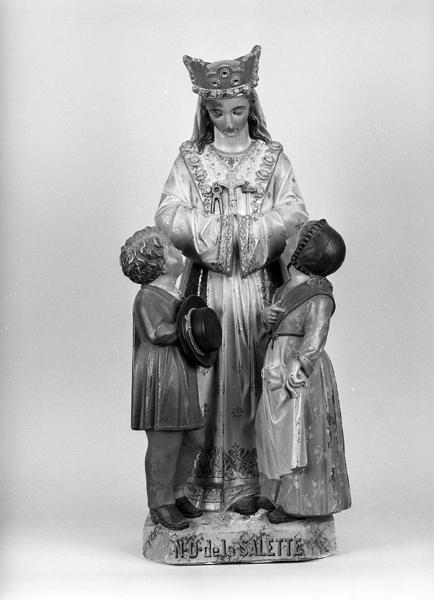 Statue : Notre Dame de la Salette