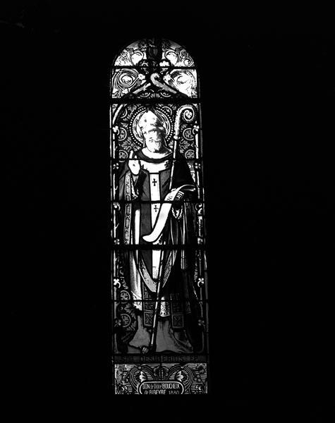 ensemble de 11 verrières : baie 3 : saint Didier