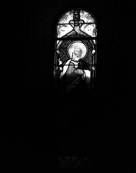 ensemble de 11 verrières : baie 2 : saint Joseph