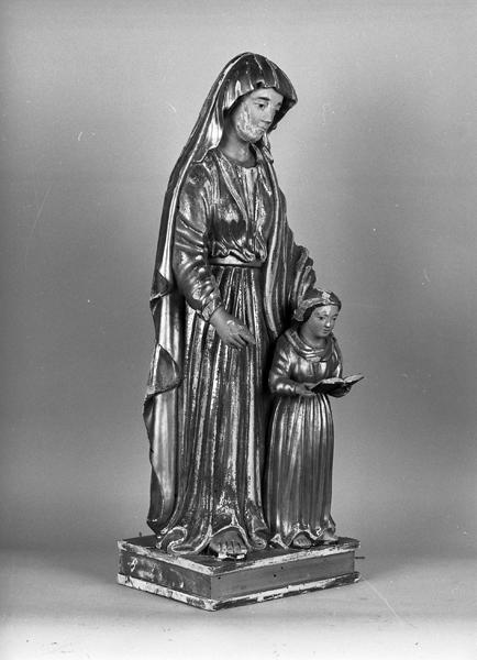 statuette : Education de la Vierge