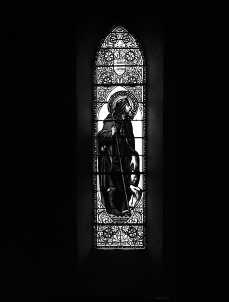 Verrières (12) : baie 11, saint Roch