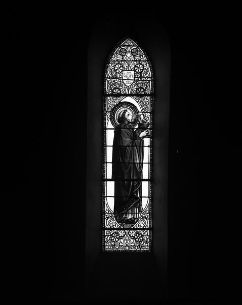 verrières (12) : baie 6, saint Gabriel archange