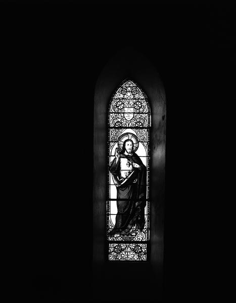 Verrières (12), baie 1 : saint Georges