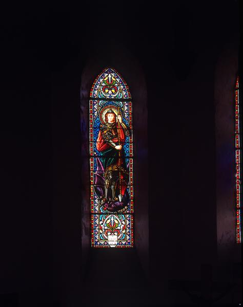 verrières (12) : baie 1, saint Georges