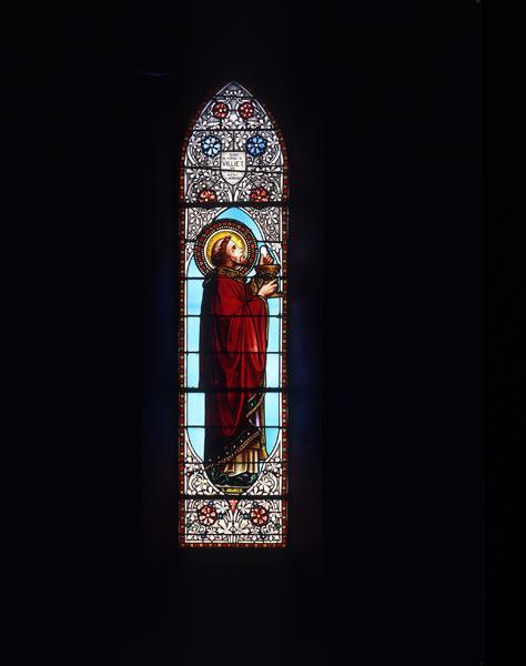 Verrières (12) : baie 7, saint Amable