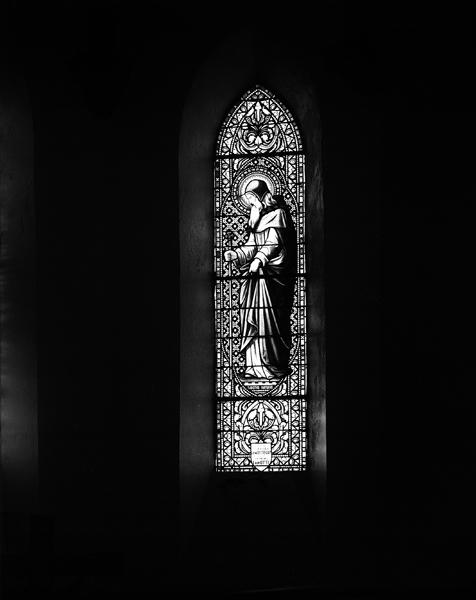 verrières (12) : baie 2, saint Antoine