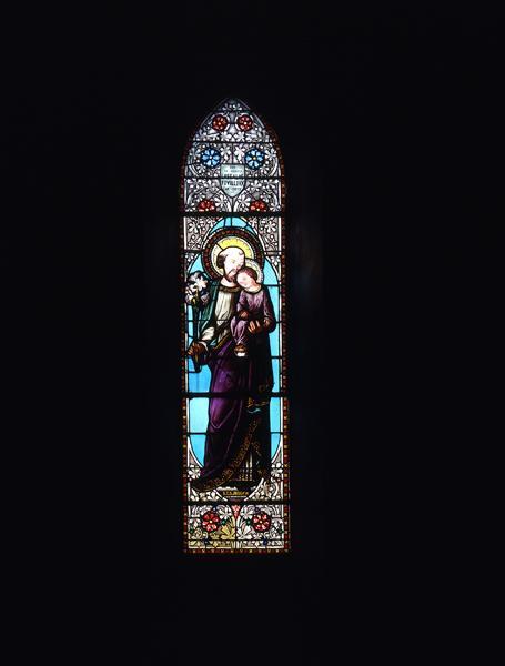 verrières (12) : baie 5, saint Joseph