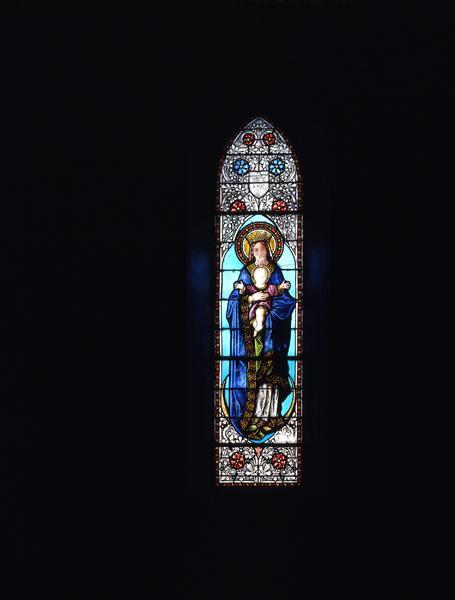 verrières (12) : baie 4, Assomption de la Vierge