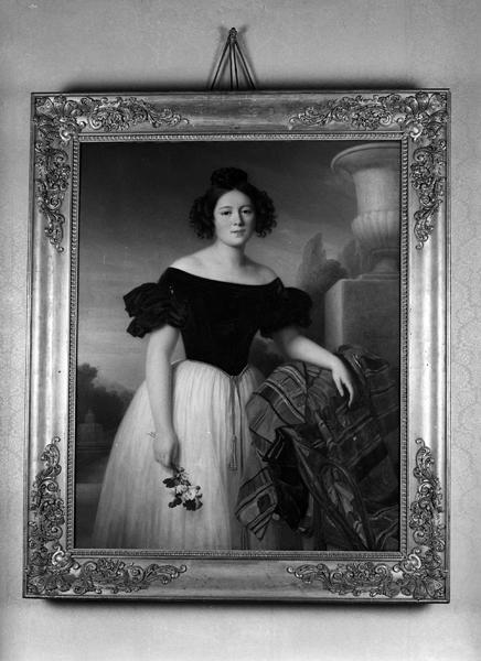 portrait de Louise-Marie de Laval