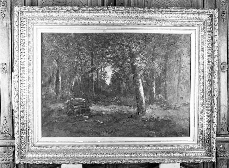 tableau : forêt