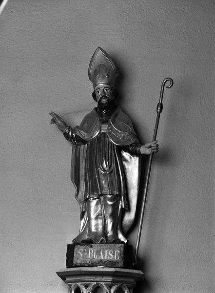 Statuette : Saint Blaise
