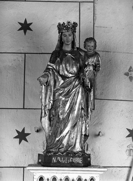 statue : Vierge à l'Enfant : Notre-Dame de la Garde
