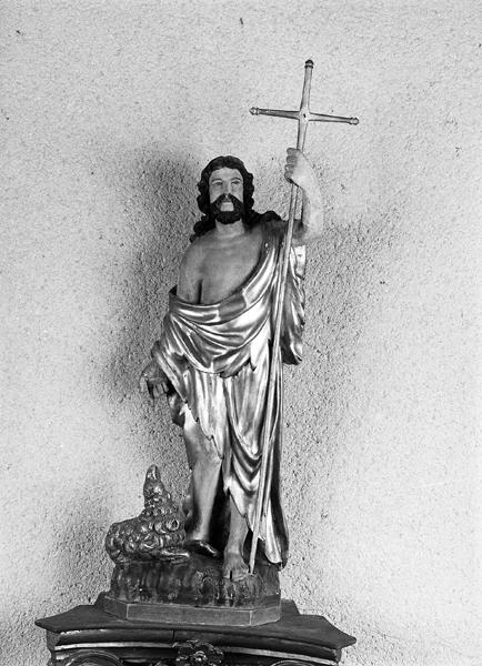 statue (demi nature) de saint Jean-Baptiste