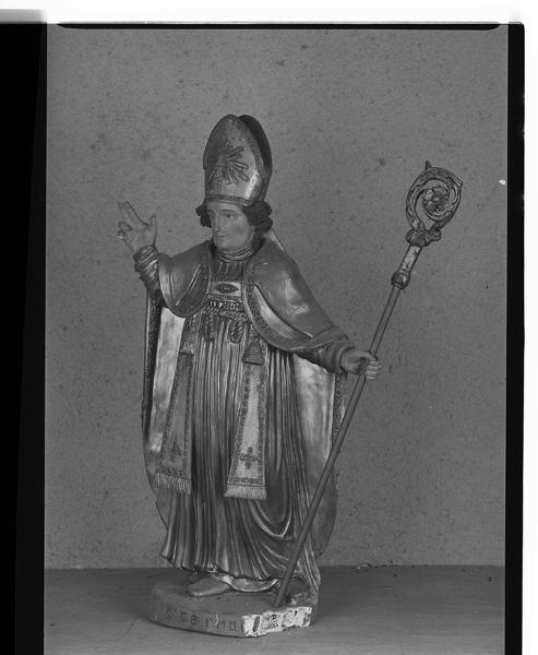 statue (petite nature) de saint Germain