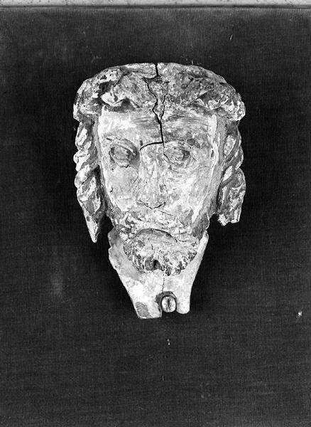 statue (vestige) du Christ