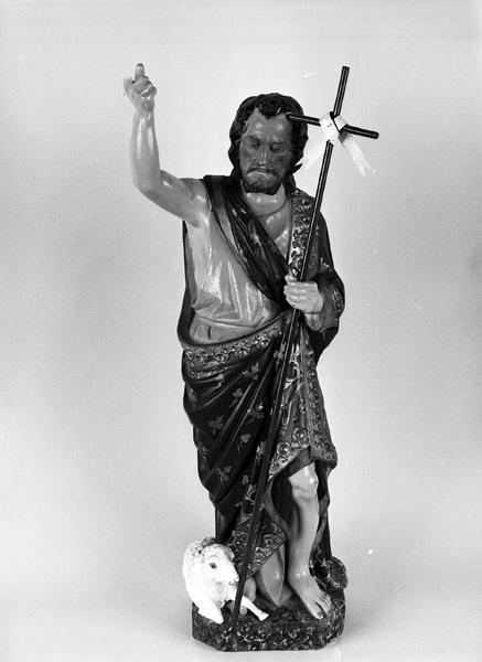statuette de saint Jean-Baptiste