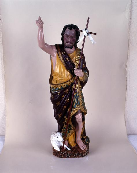 statue (statuette) de saint Jean-Baptiste