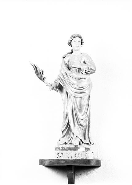 Statuette : Sainte Thècle
