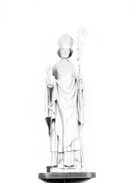 statue (petite nature) : saint Martin