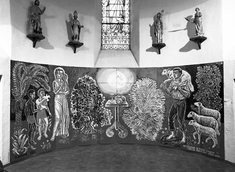 Peinture monumentale (décor de choeur)