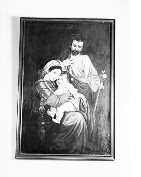 2 tableaux : Sainte-Famille, Adoration des bergers