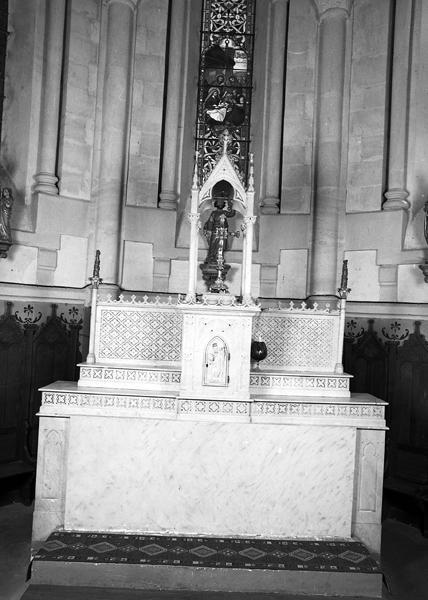 Le mobilier de l'église paroissiale Sainte Anne