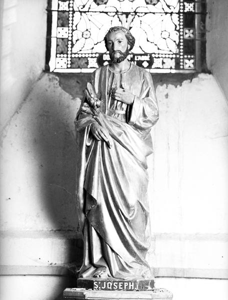 statue (petite nature) de saint Joseph