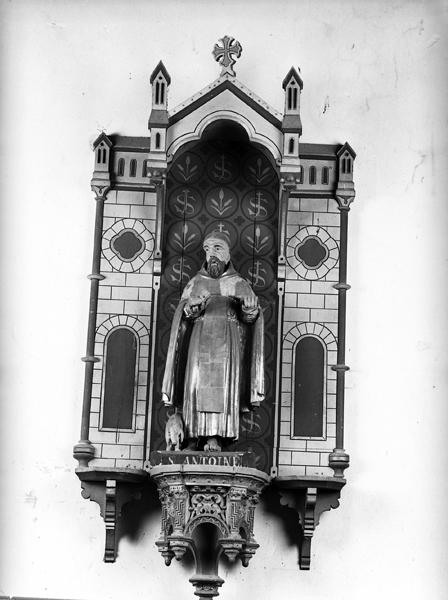 statue (statuette) de saint Antoine