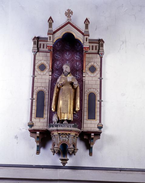 Statue (demi-nature) de saint Jean-Baptiste