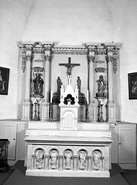 Autel, retable, tableau maitre-autel