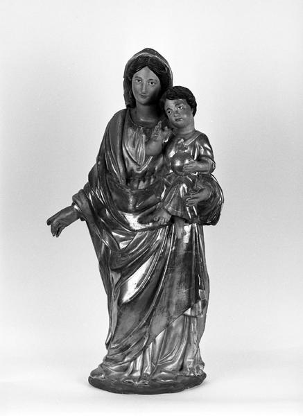 statue (satuette) : Vierge à l'Enfant