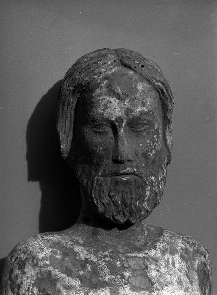 Statue (statuette) : saint sébastien