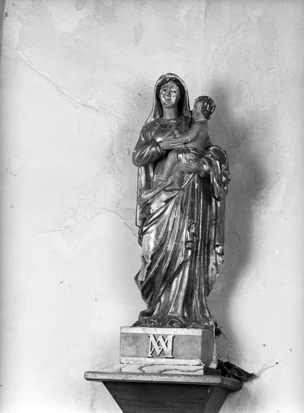 statues de saint Joseph et de la Vierge à l'Enfant