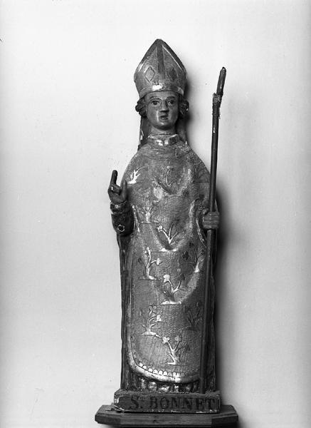 Statue (statuette) de saint Bonnet