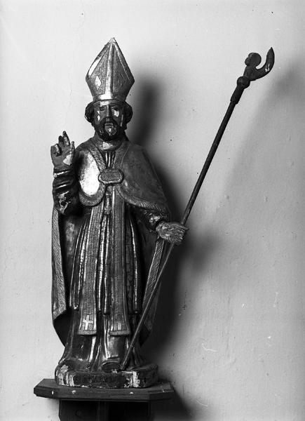 Statue (statuette) de saint Blaise