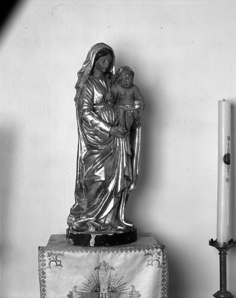 Statue (demi-nature) de la Vierge à L'Enfant (n°3)