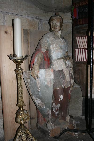 statue : saint Julien de Brioude
