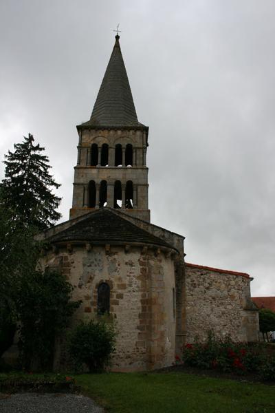 Église prieurale et paroissiale Saint-Julien du prieuré de Meillers, à présent église paroissiale