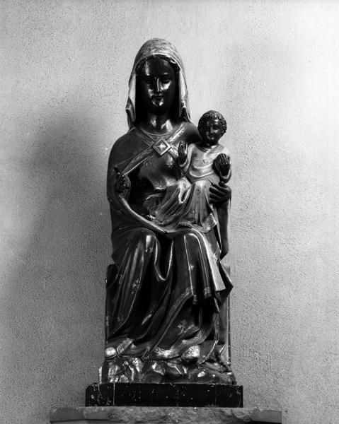 statue-reliquaire de la Vierge à l'Enfant