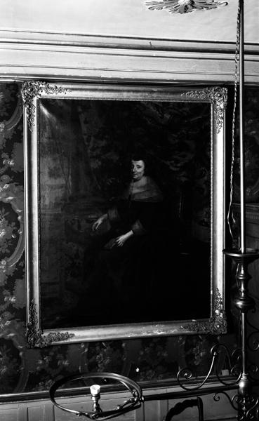 Tableau : portrait de Marie-Catherine de La Rochefoucauld, marquise de Senecey