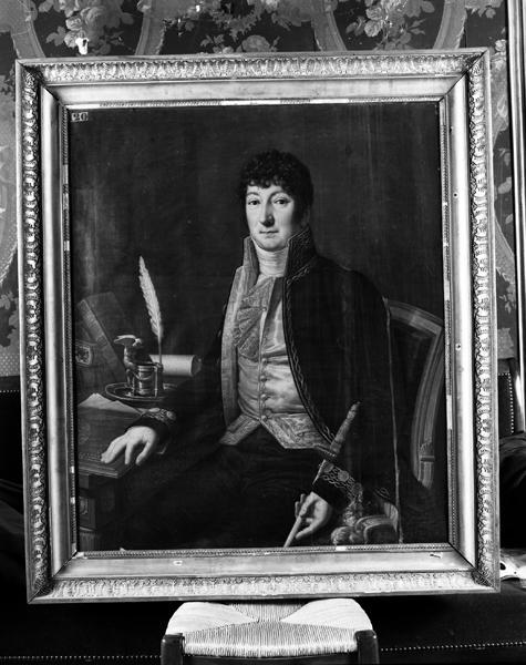 Tableau : portrait de Guillaume-Michel Chabrol de Tournoëlle