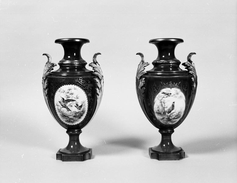 paire de vases décoratifs : Cyprès furtado