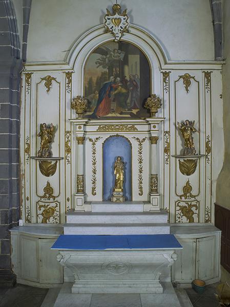 Retable de la chapelle Notre-Dame de Vergheas