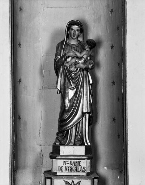 Statue : Vierge à l'Enfant dite Notre-Dame de Vergheas