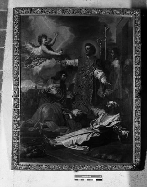 tableau : saint Amable guérissant un malade
