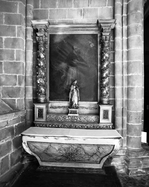retable, tableau de la chapelle Saint-Antoine