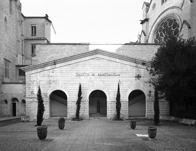 """Ensemble immobilier désigné comme """"faculté de médecine"""" (ancien couvent Saint-Benoît, ancien évêché et faculté de médecine avec le musée d'anatomie)"""