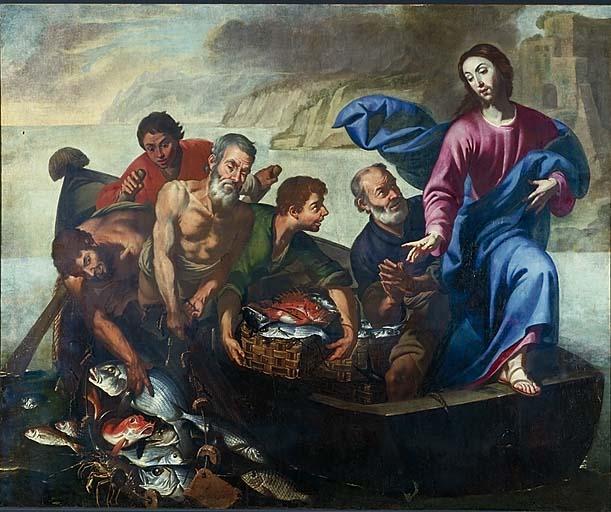 tableau : La Pêche miraculeuse