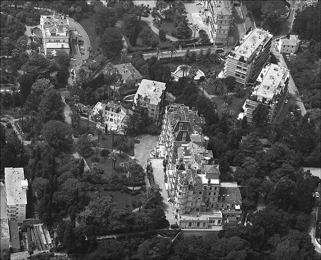 Hôtel de voyageurs dit Hôtel du Parc, actuellement Résidence du Parc Vallombrosa